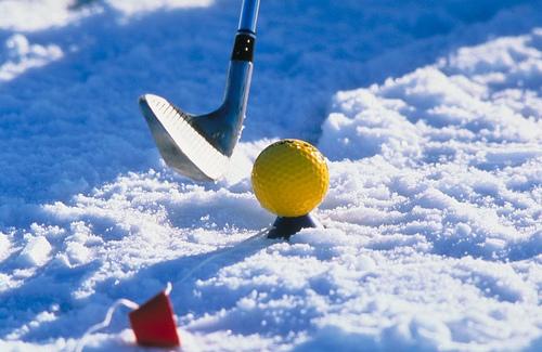 Snow Golf!