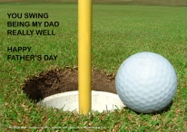 golfdadfathersdaycard